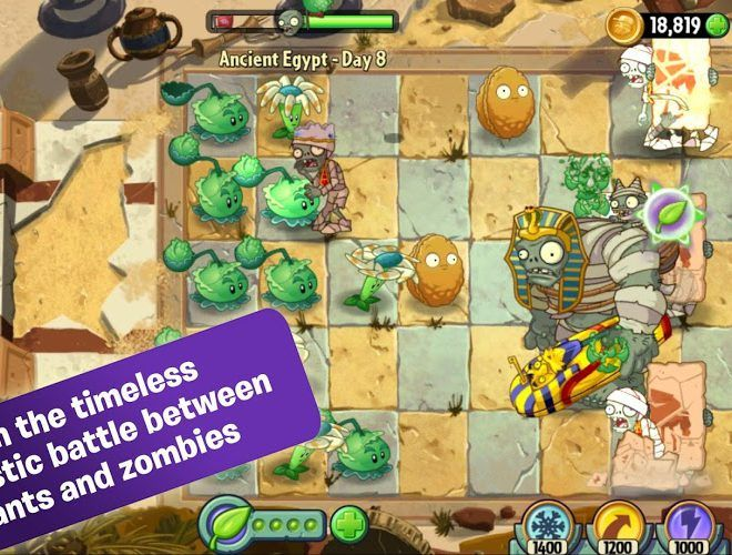 Speel Plants vs Zombies 2 on PC 2