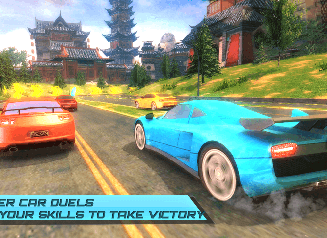Play Drift car city traffic racer on pc 8