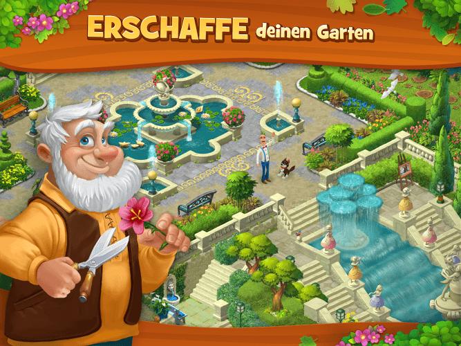 Spiele Gardenscapes auf PC 11