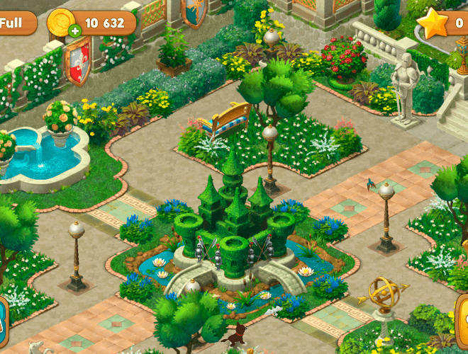 เล่น Gardenscapes on PC 22