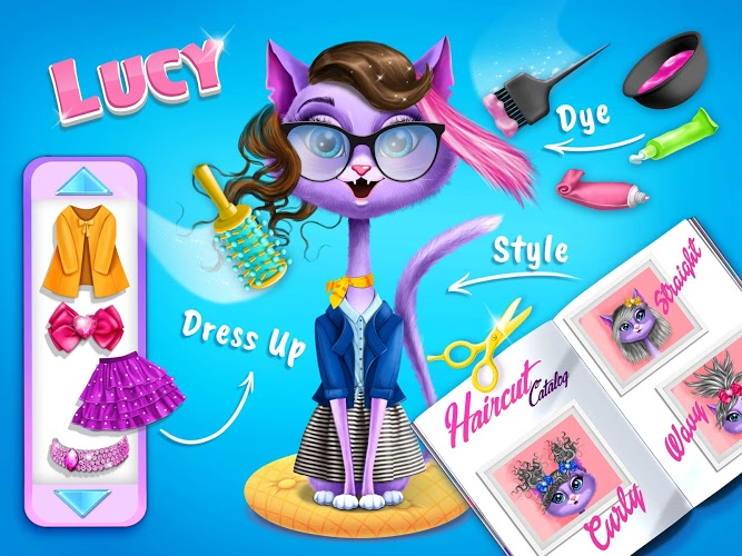 Play Farm Animals Makeover – Cute Virtual Pet Salon on PC 12