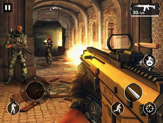 เล่น Modern Combat 5: Blackout on PC 7