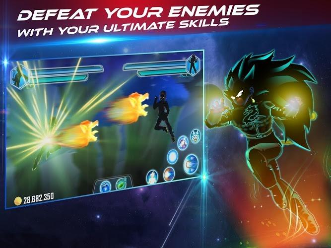 Play Dragon Shadow Battle Warriors: Super Hero Legend on PC 15