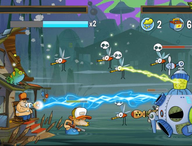 Играй Swamp Attack На ПК 15