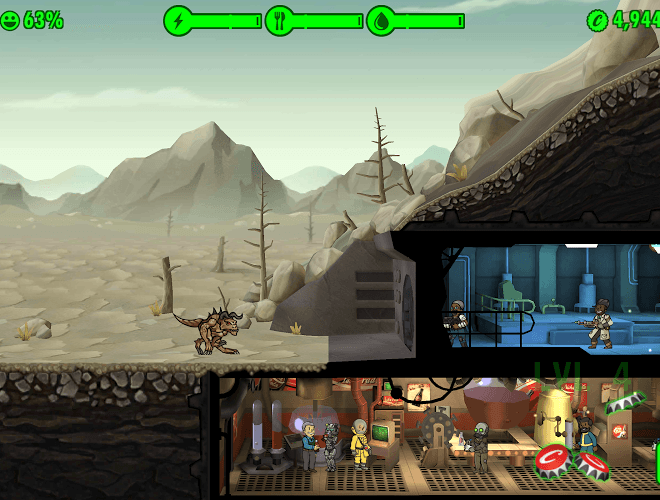 Jogue Fallout Shelter para PC 25