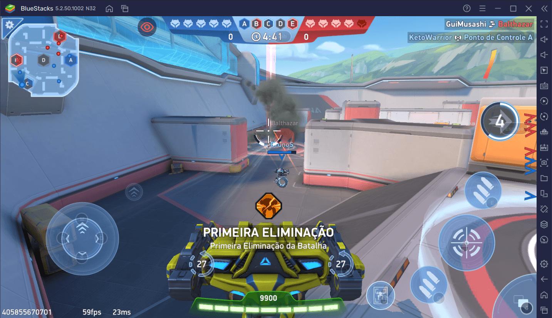 As melhores configurações para jogar o Mech Arena: Robot Showdown no seu PC com o BlueStacks