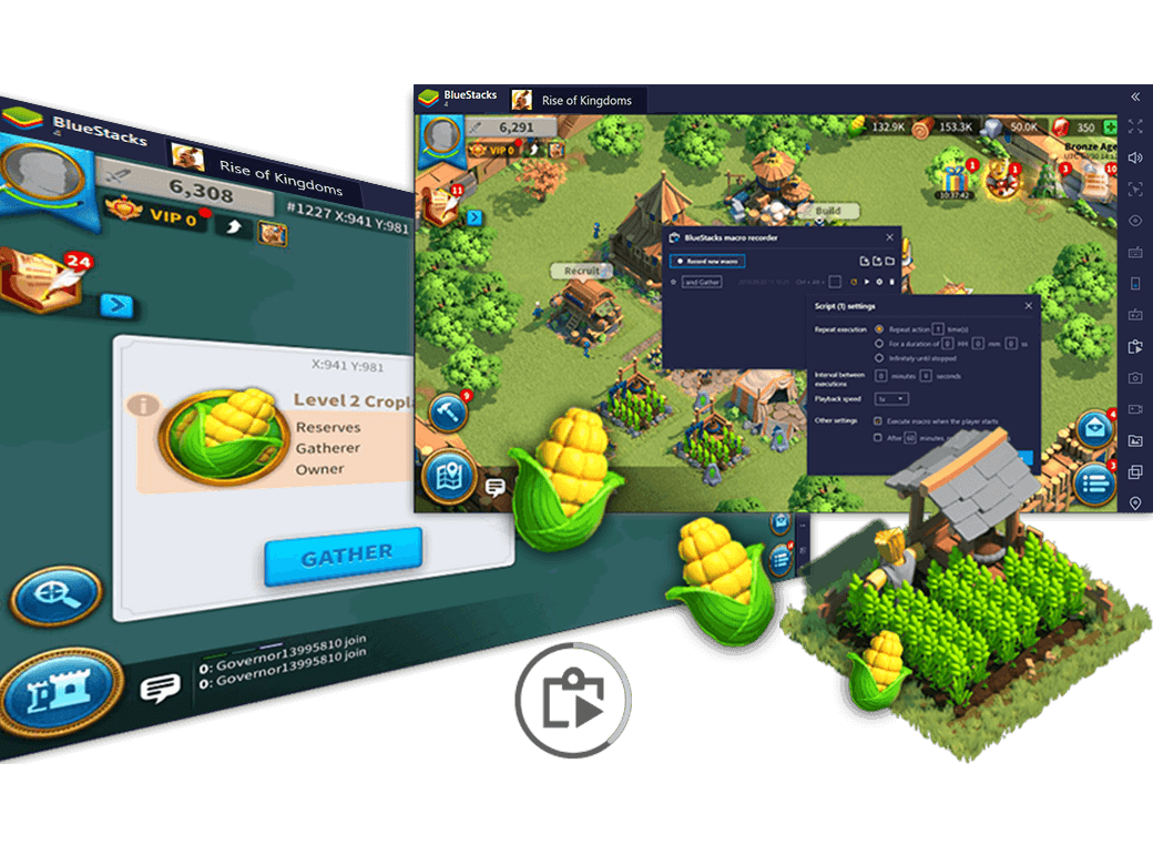 Automatisiere Login und Harvesting in Rise of Kingdoms