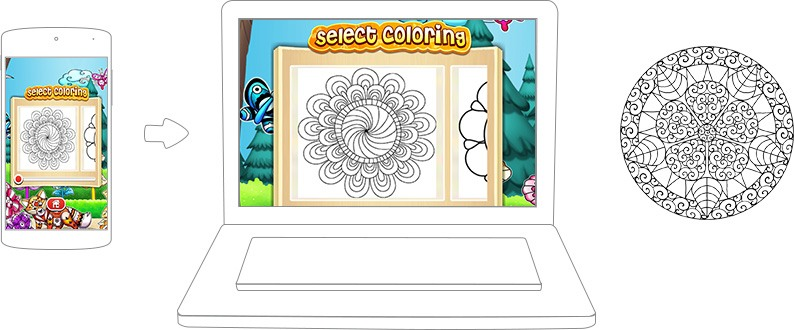Download Mandala Coloring Pages On Pc With Bluestacks