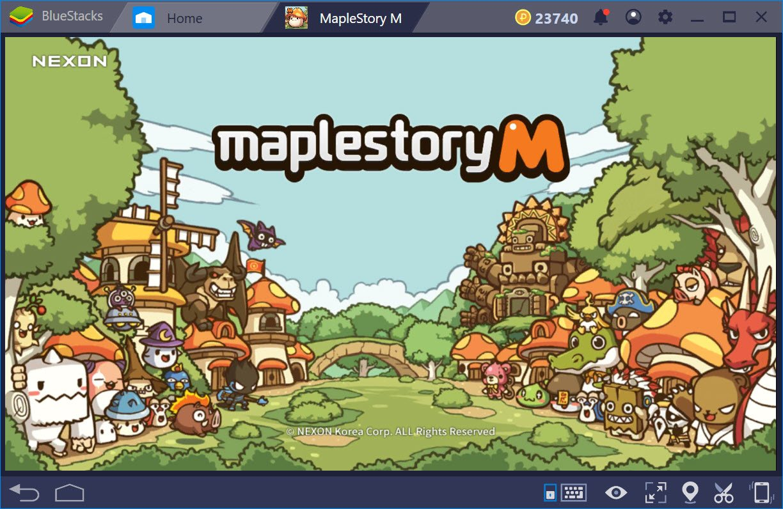 Áp dụng tính năng mới Combo Key của BlueStacks chơi game MapleStory M