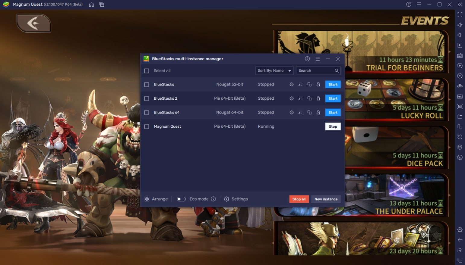 How to Play Magnum Quest on PC with BlueStacks