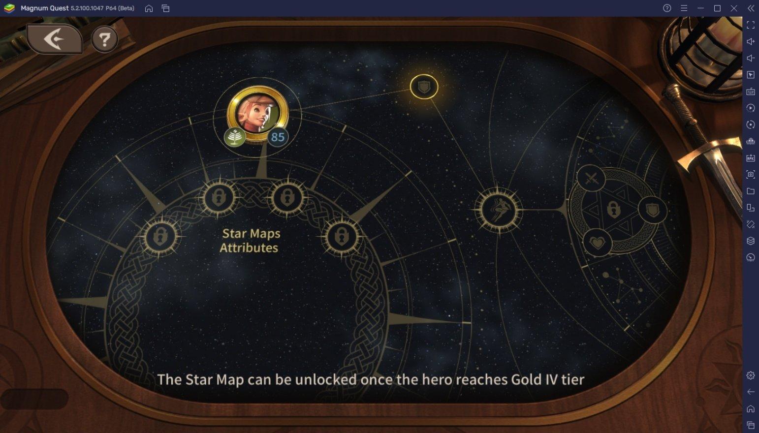 كيفية زيادة تصنيف القوة في لعبة Magnum Quest