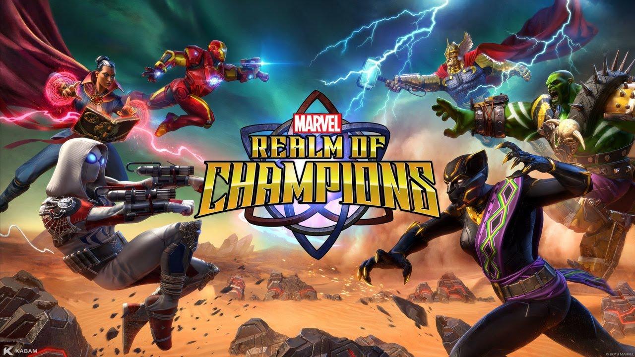 신작 마블 게임 MARVEL 렐름 오브 챔피언스, PC로 즐겨봐요!