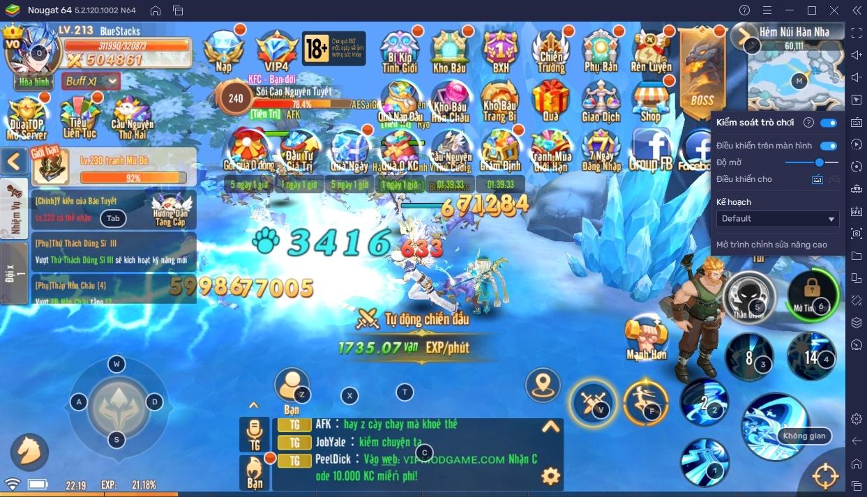 Chơi Mật Mã Gaia trên PC: Hướng dẫn gán phím để chơi nhanh hơn