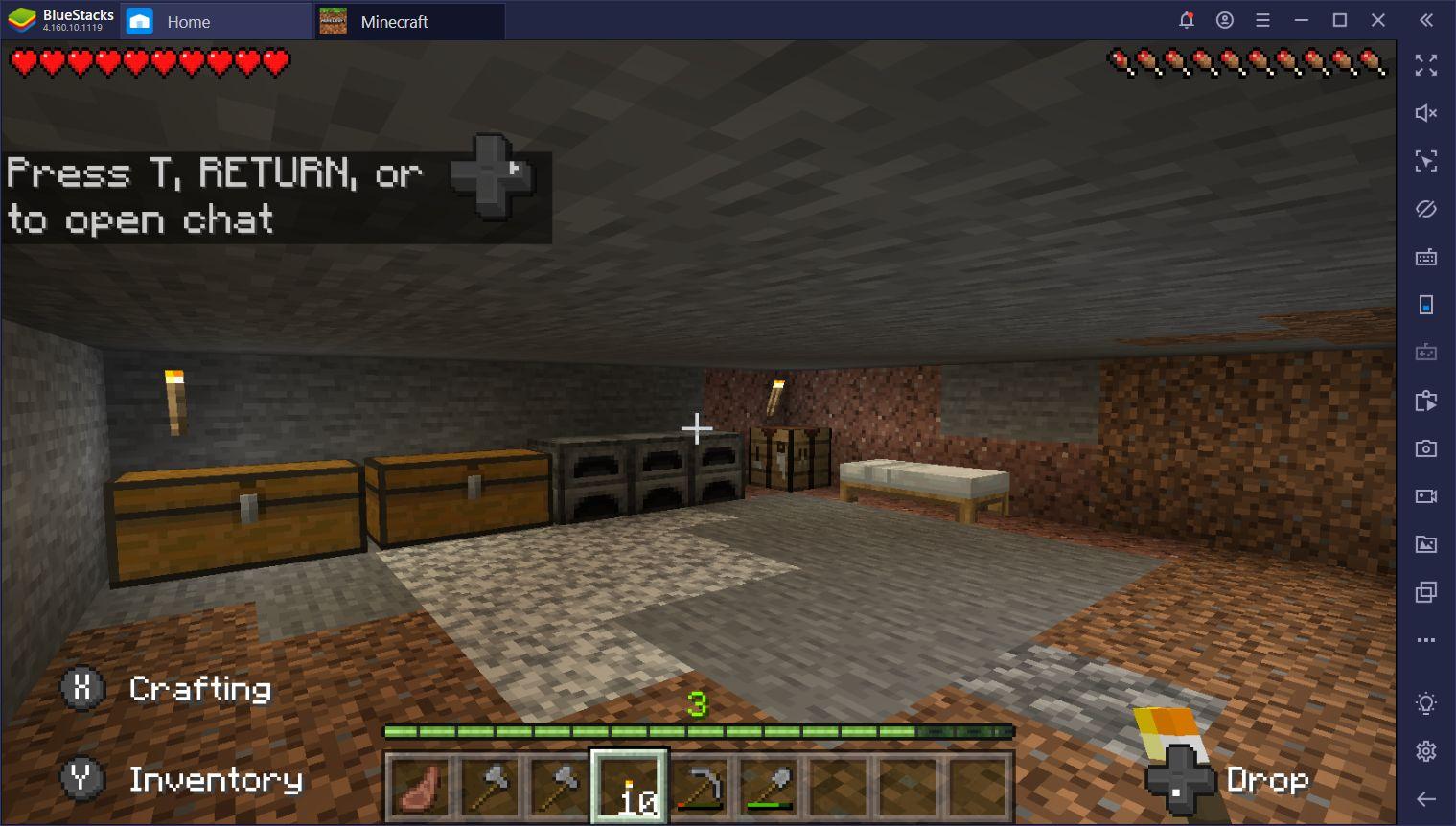 Minecraft auf dem PC – Mining-Leitfaden: So sammelst du Materialien und bleibst dabei sicher