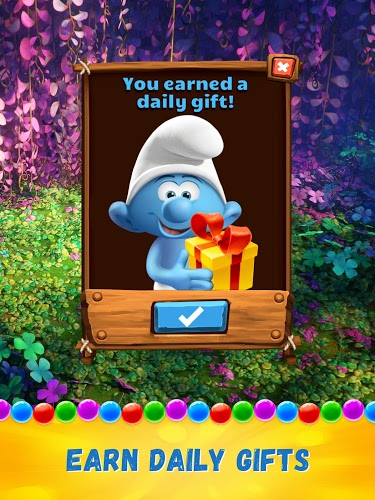 Play Smurfs Bubble Story on PC 12