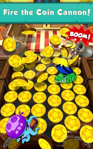 Joue Coin Dozer: Pirates on pc 11