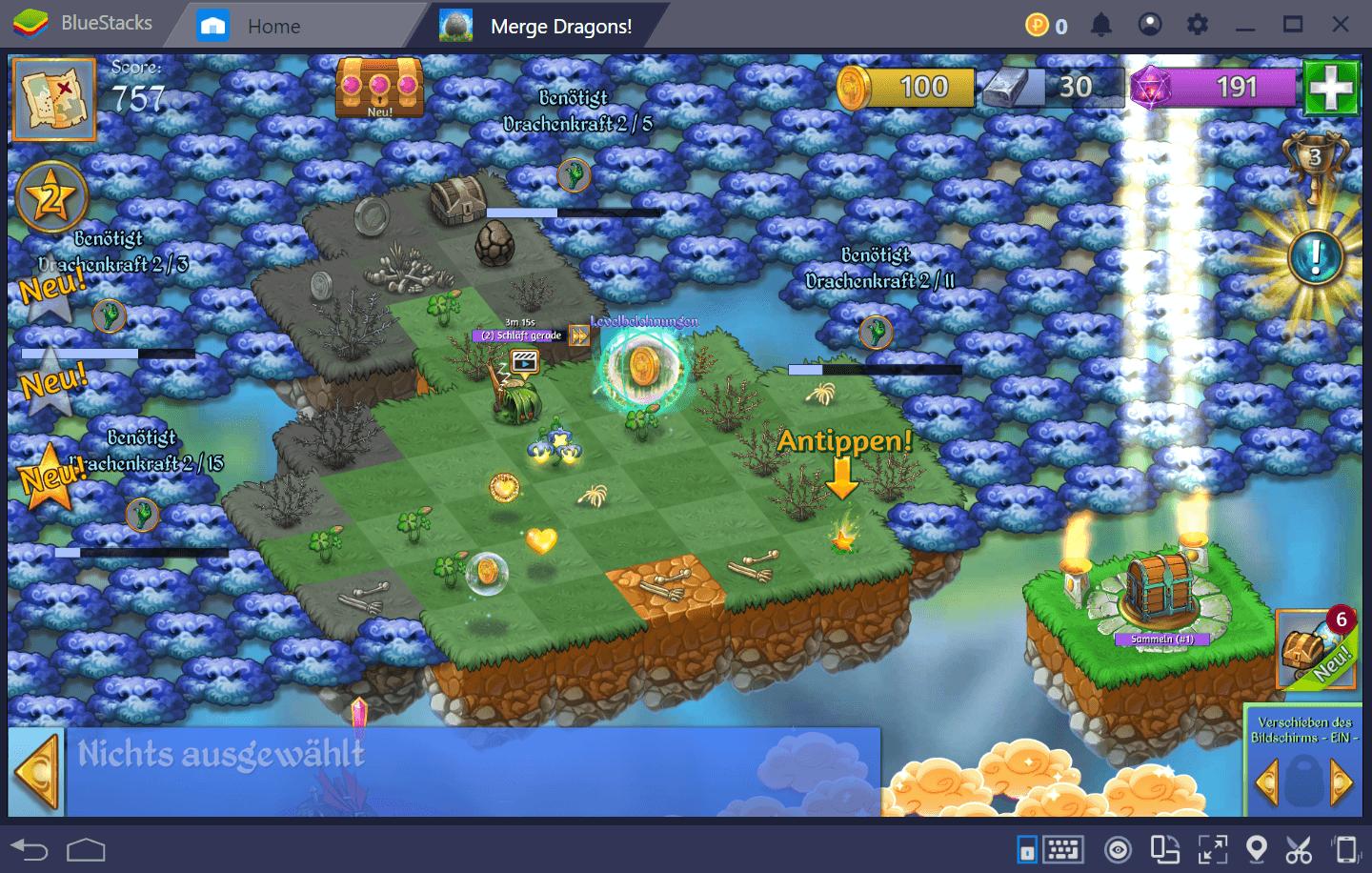 Merge Dragons auf BlueStacks – Verbessere dein Gameplay mit unserer Plattform