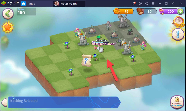 Thanh tẩy khu vườn thiêng cùng Merge Magic! trên PC