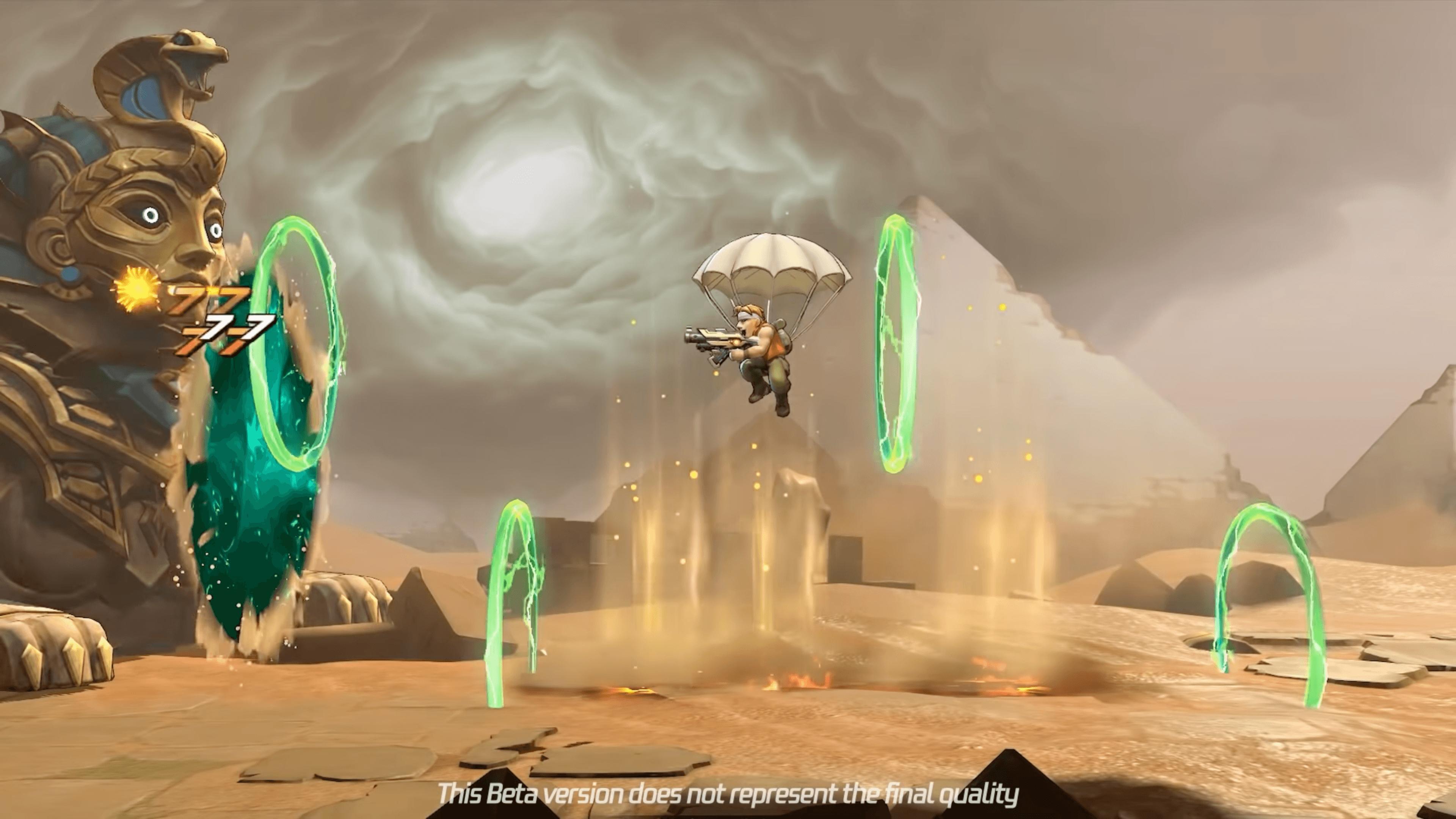Metal Slug Mobile tung trailer giới thiệu gameplay đầy hấp dẫn