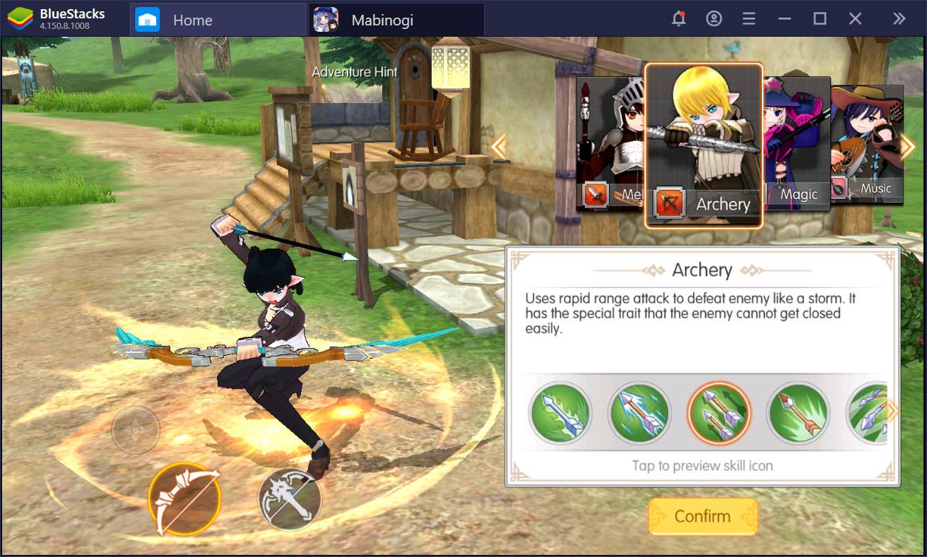 Giới thiệu hệ thống class chuyển đổi đa dạng trong Mabinogi-Fantasy Life