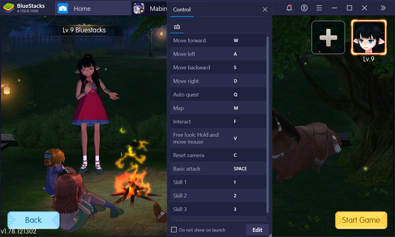 Thiết lập chơi Mabinogi-Fantasy Life tối ưu với Game Controls của BlueStacks
