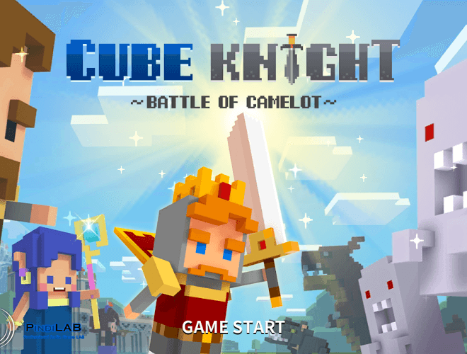 Play Cube Knight: Battle of Camelot on PC 11