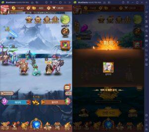 블루스택 앱플레이어와 함께 PC로 마이티 아레나의 영웅들을 더 빠르게 성장시켜봐요