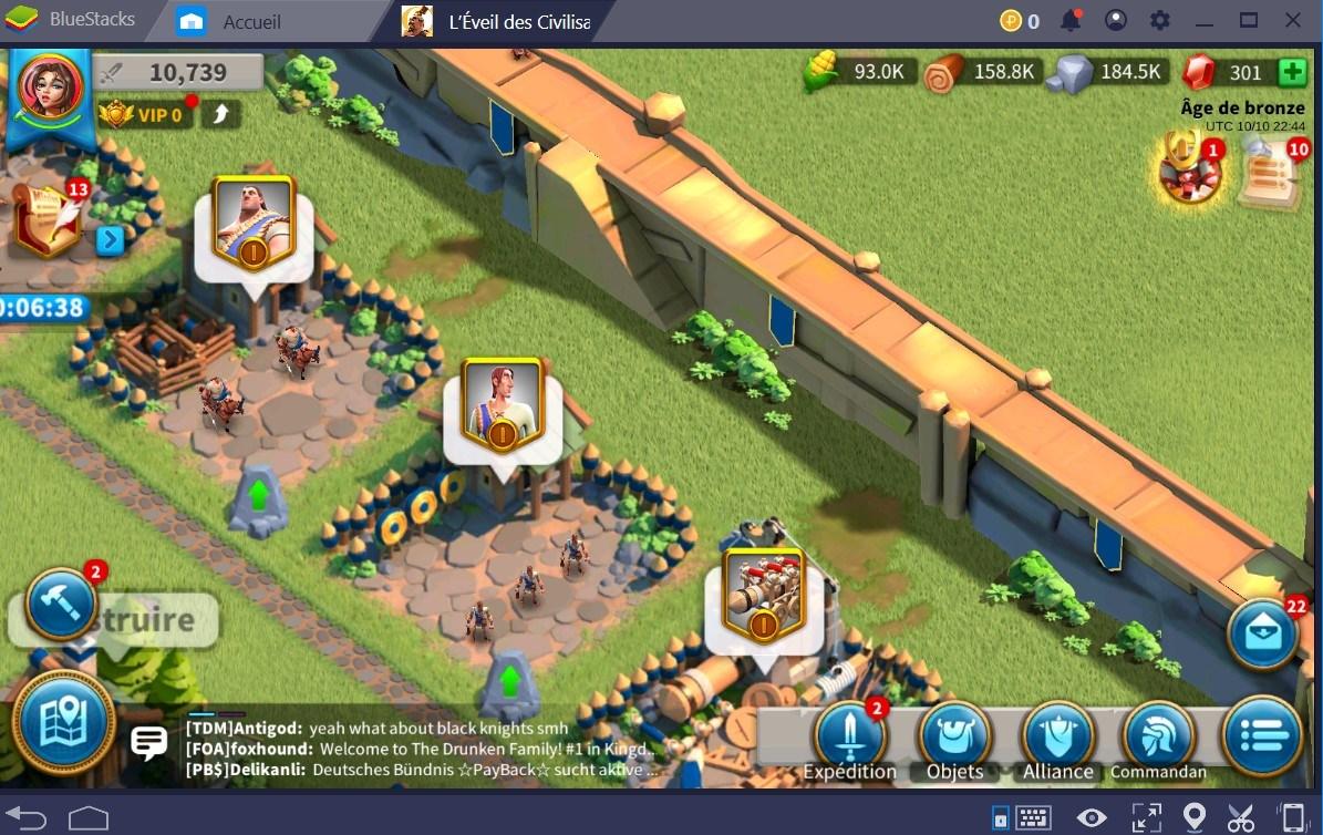 Rise of Kingdoms : devenez un bâtisseur hors pair