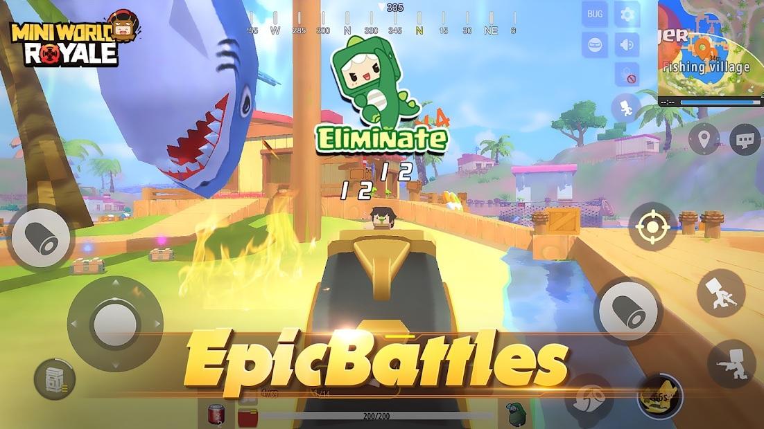 Mini World Royale: Game sinh tồn độc lạ sắp ra mắt tại Việt Nam