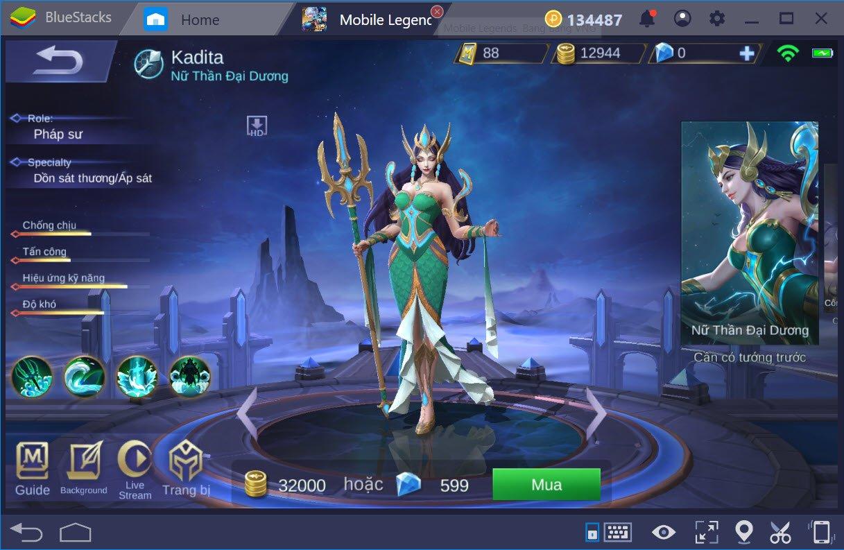 Giới thiệu các Class trong Mobile Legends Bang Bang