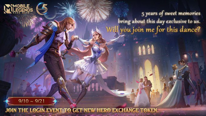 Mobile Legends: Bang Bang — Moonton Announces a New Event to Celebrate its 5th Anniversary