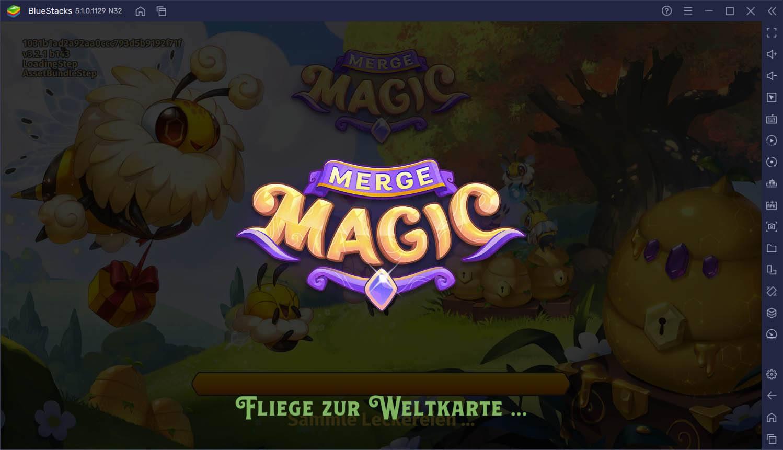 Wie man Merge Magic! mit BlueStacks auf dem PC spielt