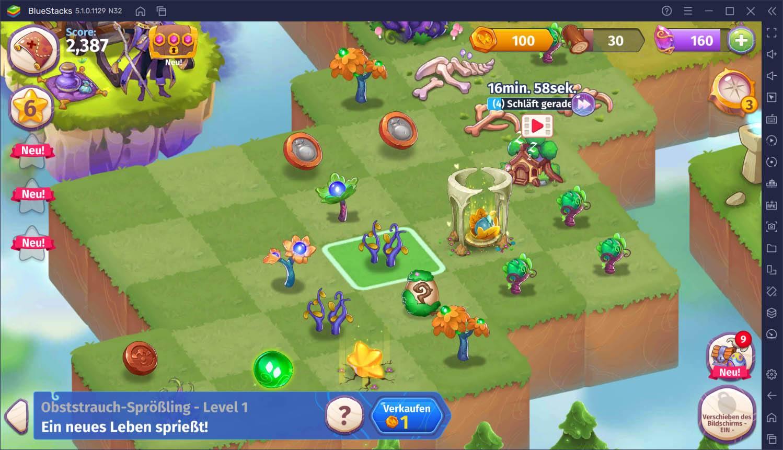 Merge Magic! auf dem PC: Der Einstiegsleitfaden zu Ressourcen