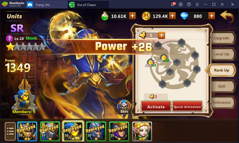 Mẹo bách chiến bách thắng khi chơi Might & Magic: Era of Chaos