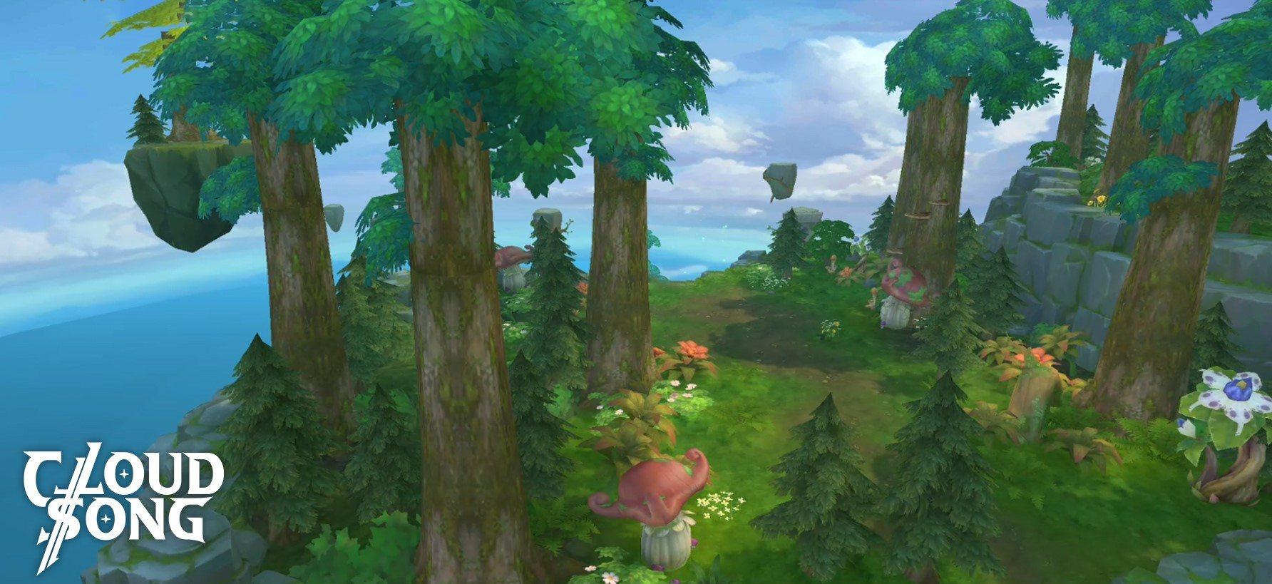 MMORPG Mobile, Cloud Song Siap Rilis di Asia Tenggara!