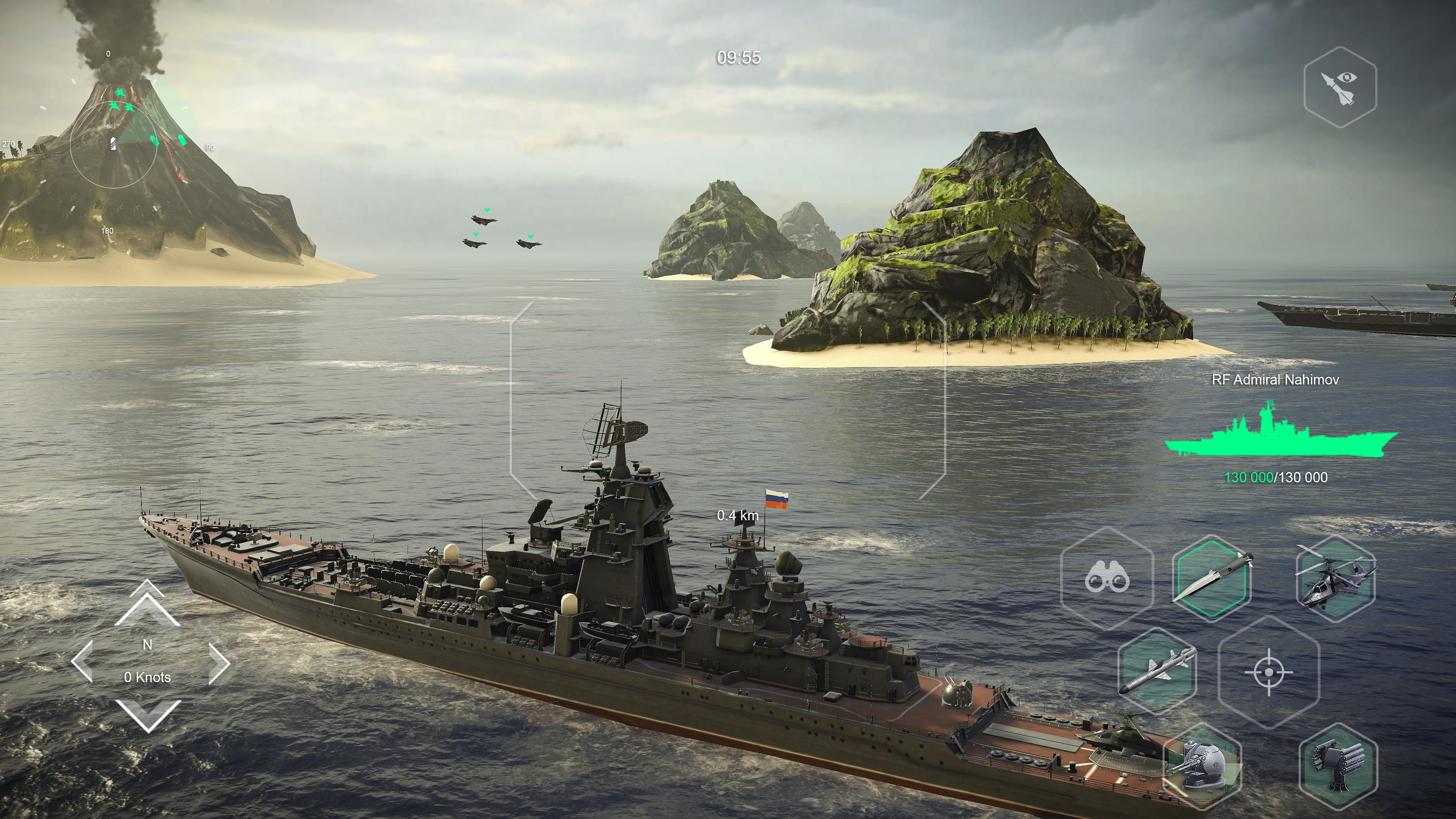 Военно-морской экшен Modern Warships стал доступен на Android!