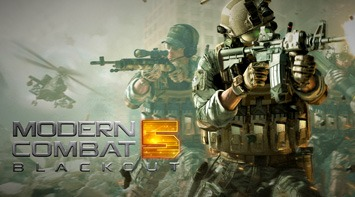 Play Modern Combat 5: Blackout on pc