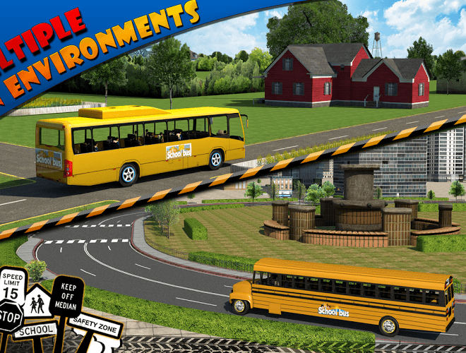 Play School bus Driver 3D on PC 11