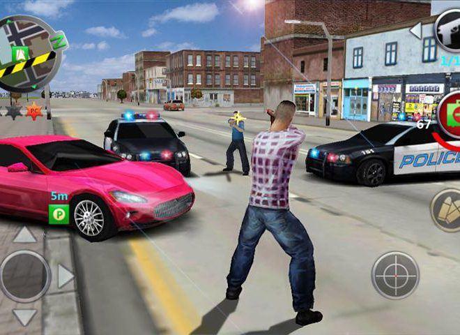 เล่น Grand Gangsters 3D on PC 7