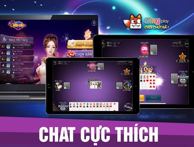 Chơi Zing Play Tienlen on pc 13
