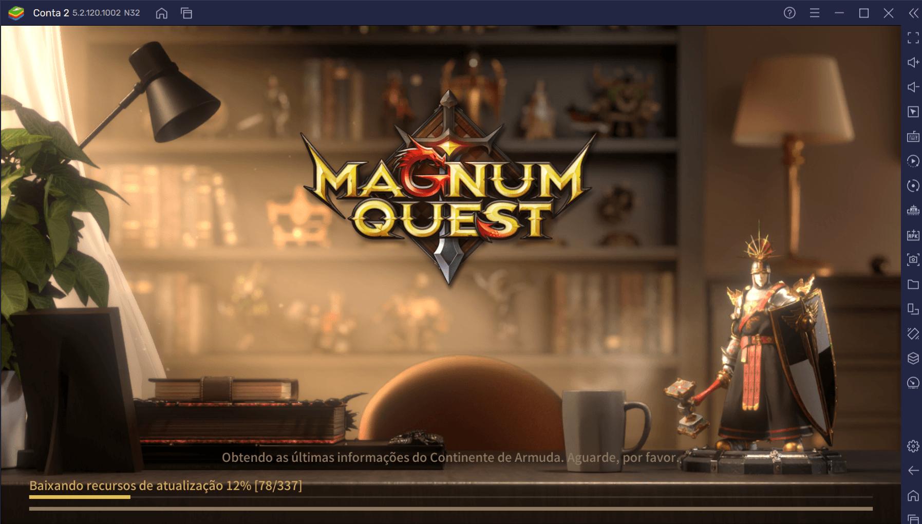 Faça Reroll em Magnum Quest e comece o jogo com os melhores personagens