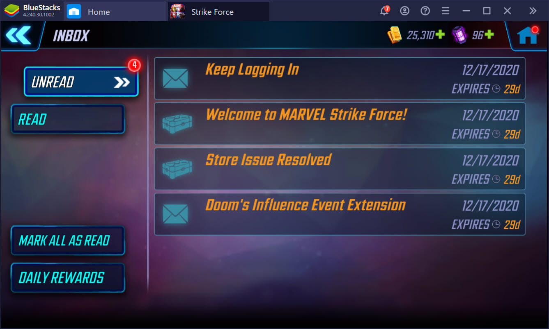 Những lưu ý bạn không nên bỏ qua khi chơi MARVEL Strike Force