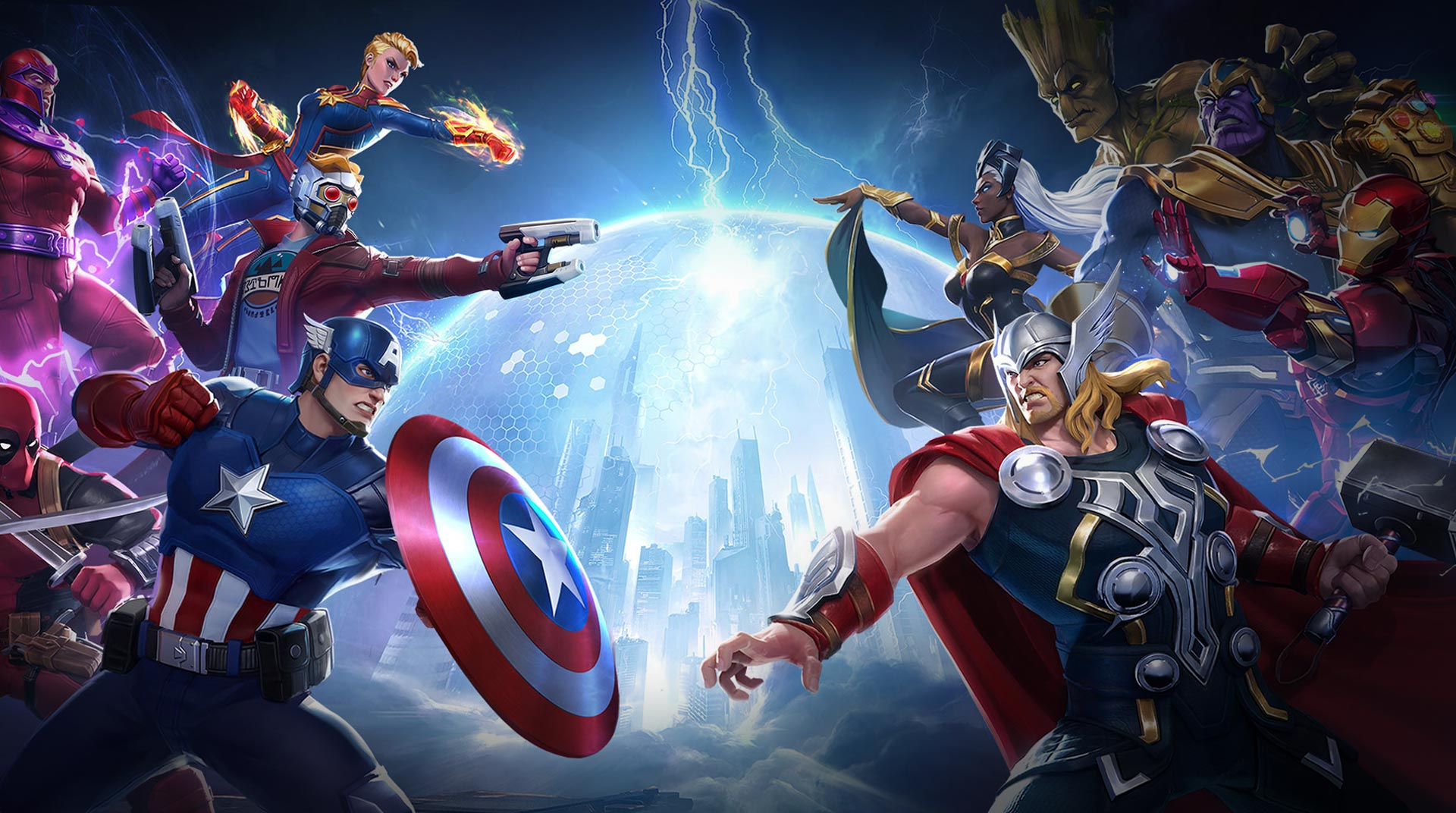 Marvel Super War เล่นบน BlueStacks อย่างไรให้ลื่น