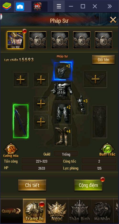 MU Đại Thiên Sứ H5: Toàn tập về nâng cấp nhân vật, trang bị và kỹ năng