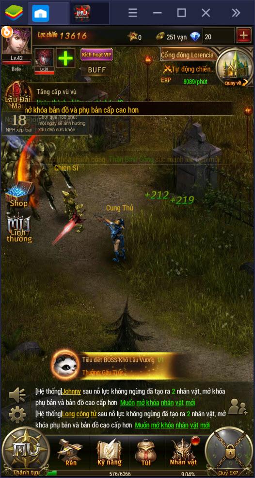 Cùng chơi MU Đại Thiên Sứ H5 trên PC với BlueStacks