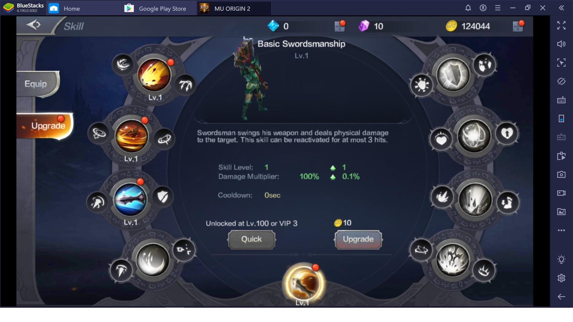 MU Origin 2 เทคนิคลับแบบฉบับผู้เล่นใหม่