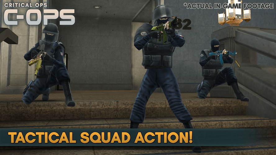Download Critical Ops on PC with BlueStacks