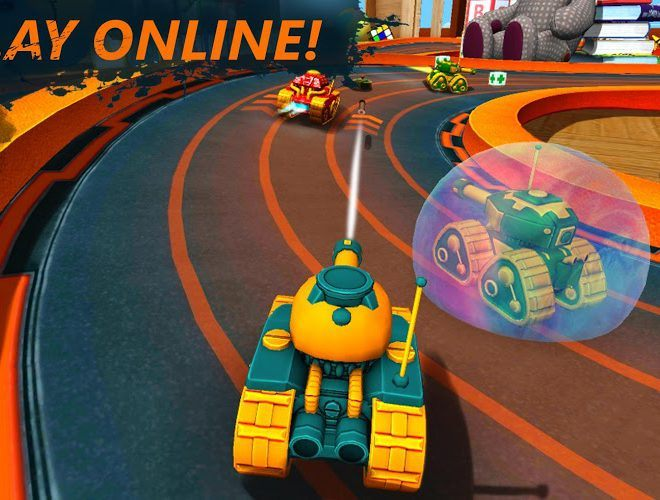 Play War Tank Racing Online 3d on PC 13
