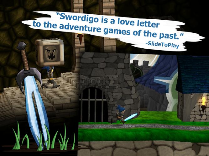 Играй Swordigo На ПК 11