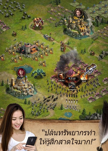 เล่น Clash of Queens on PC 20